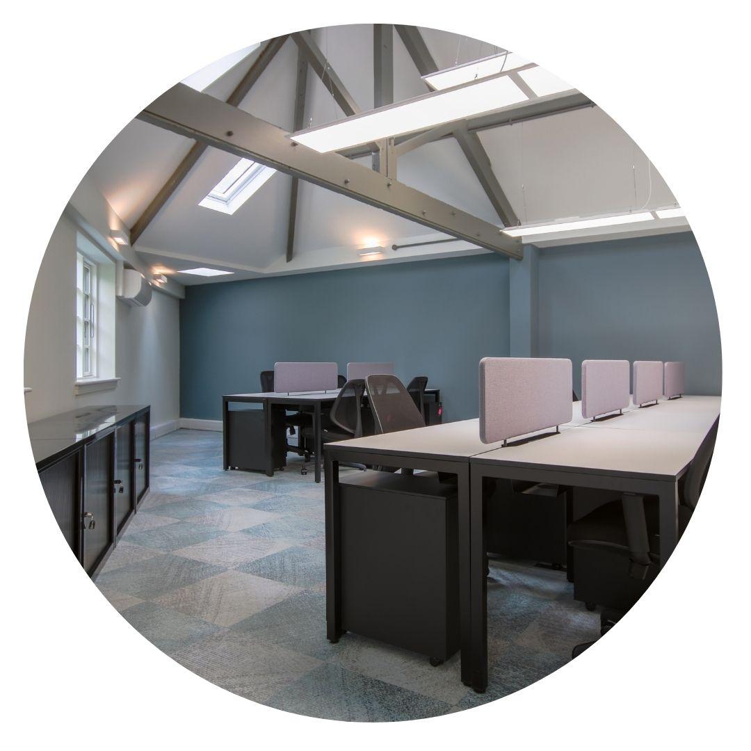 Oxford House Dedicated Desks
